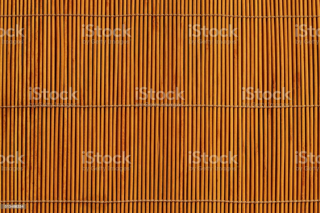 bamboo stick straw mat texture background stock photo
