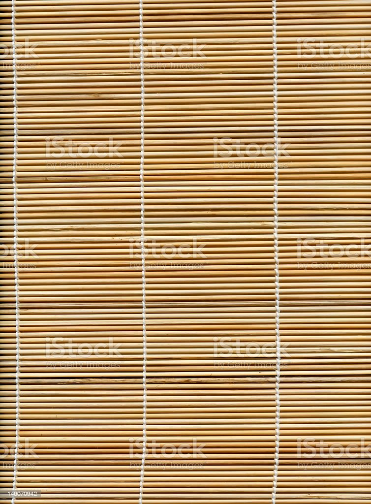 Bamboo stick straw mat texture to background royalty-free stock photo