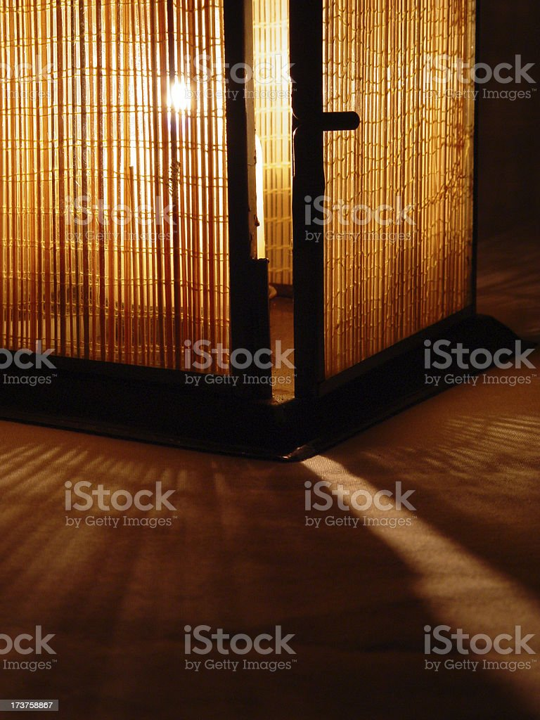 bamboo sunrise 8 royalty-free stock photo