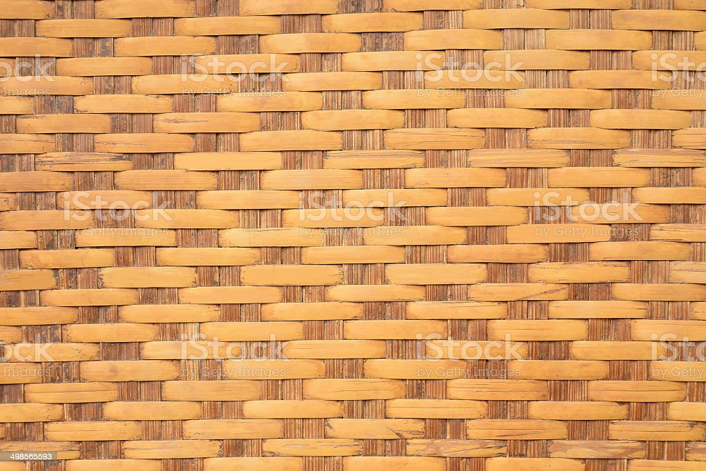 Bamboo weave royalty-free stock photo