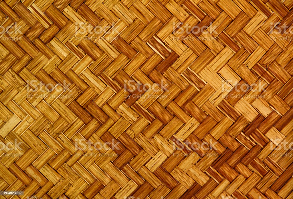 Bamboo Weave Texture. stock photo