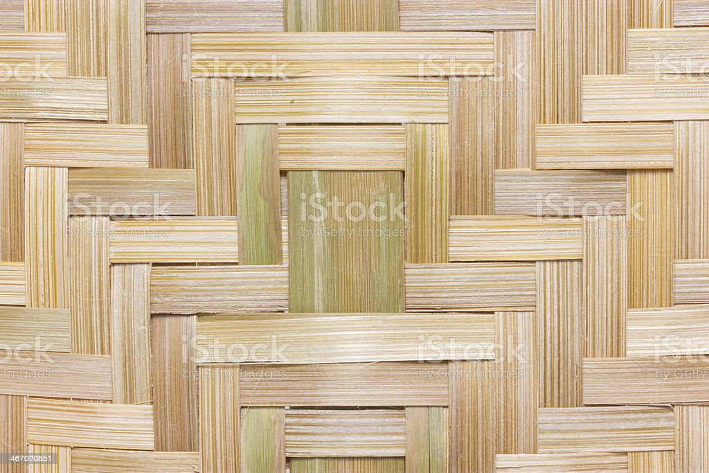 Bamboo weaved texture background. royalty-free stock photo