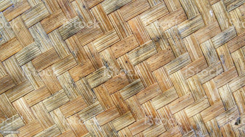 bamboo weaving stock photo