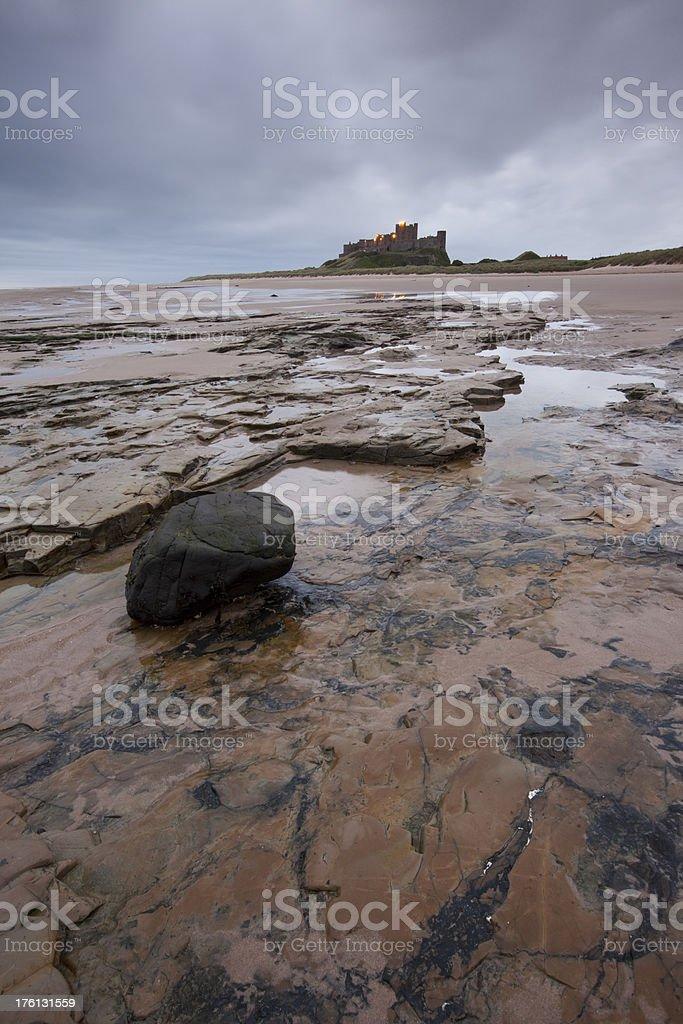 Bamburgh Castle royalty-free stock photo