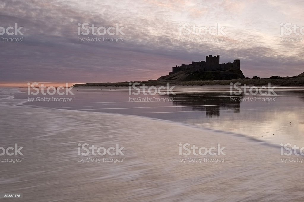 Bamburgh Castle royalty-free stock photo