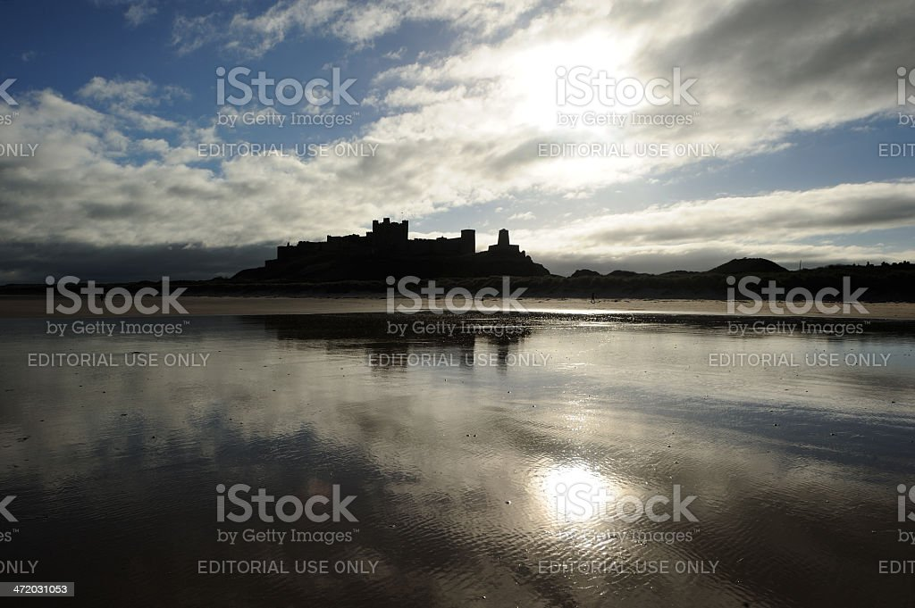 Bamburgh stock photo