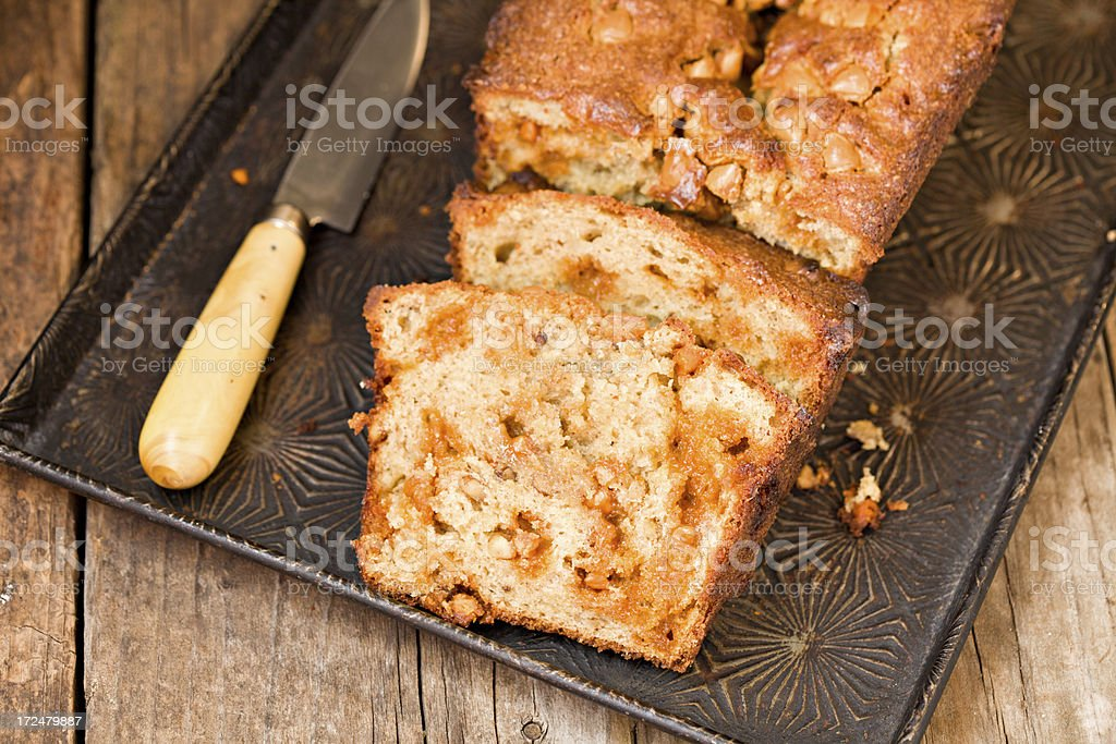 Banana Bread royalty-free stock photo