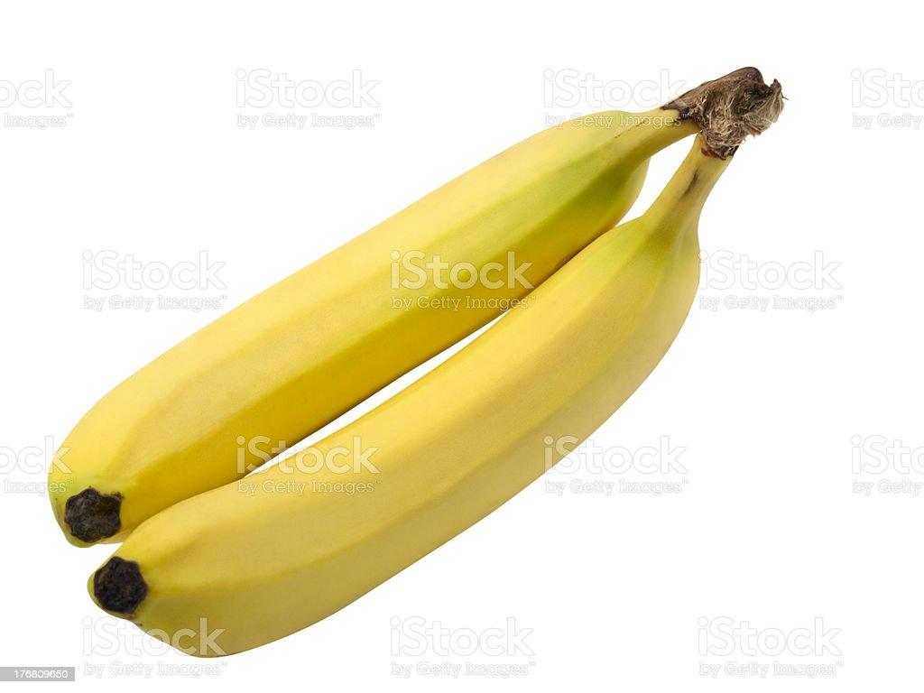 Paquete de Banana foto de stock libre de derechos