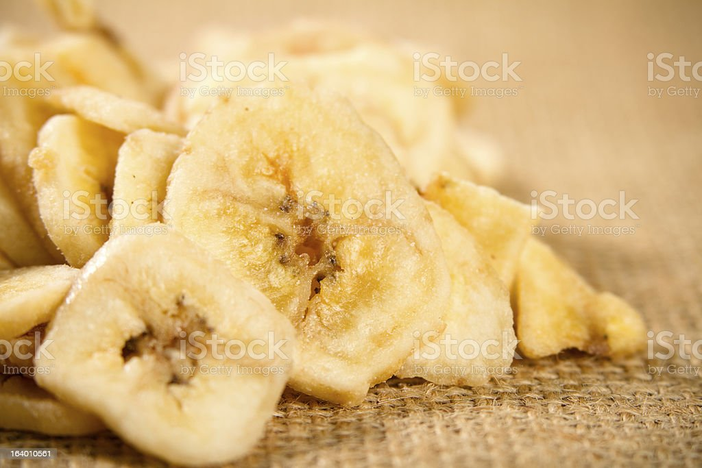 Banana Chips royalty-free stock photo