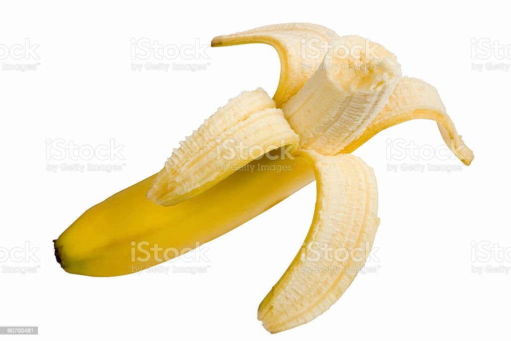 banana clipping royalty-free stock photo