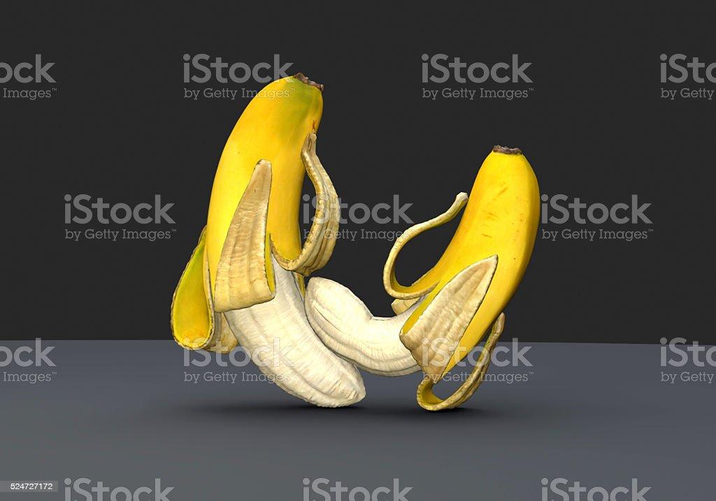 Banana have SEX stock photo