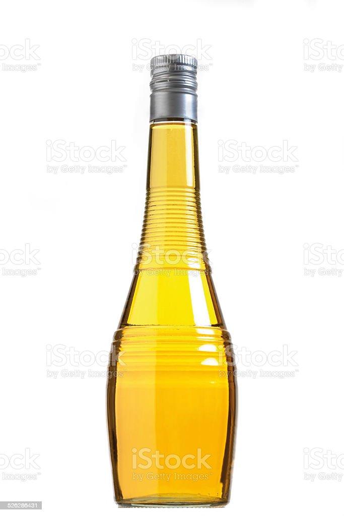 Banana liqueur stock photo