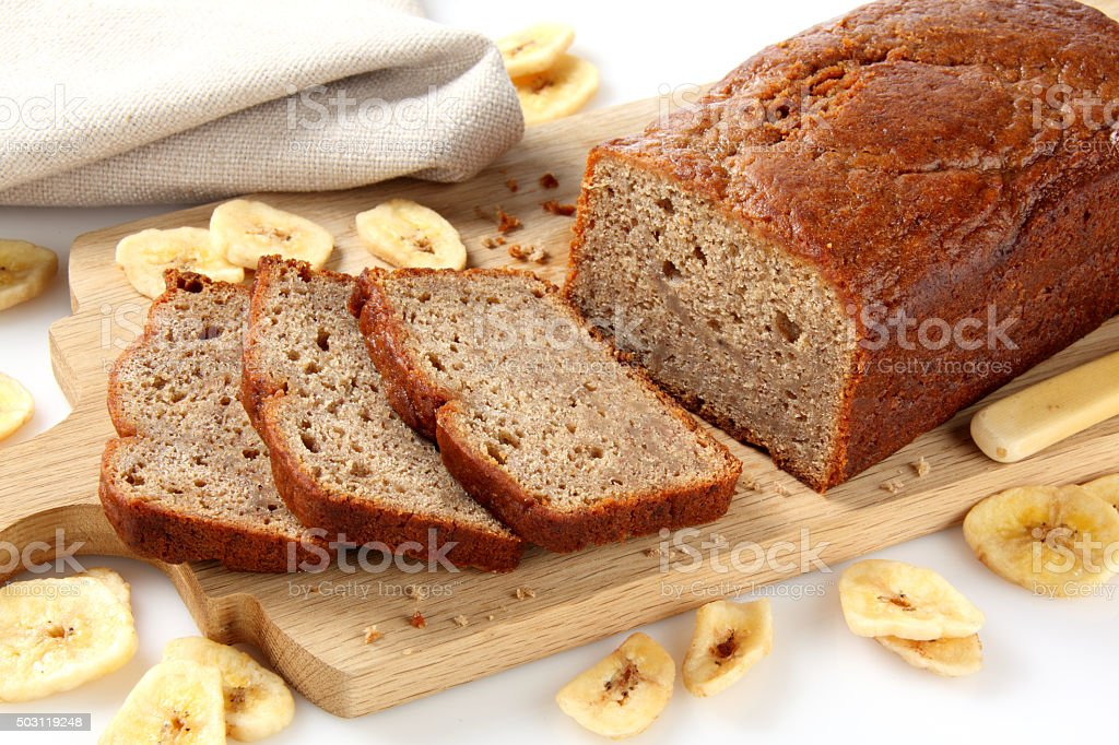 Banana Loaf stock photo