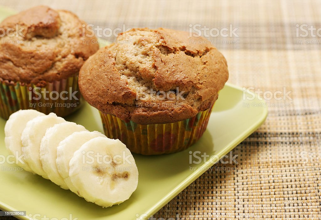 banana muffin royalty-free stock photo