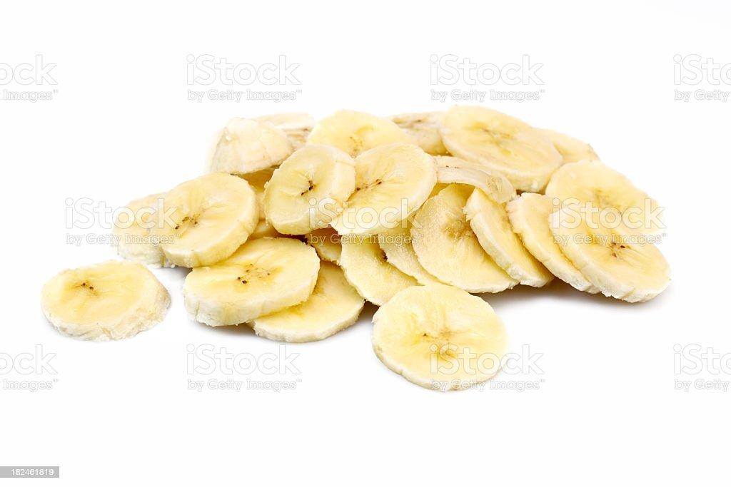 Banana slice royalty-free stock photo