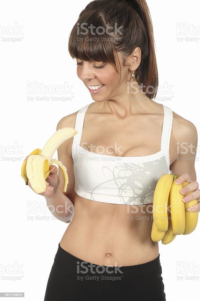 Banana time royalty-free stock photo