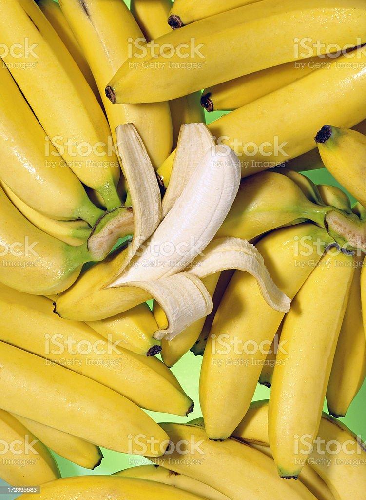 Banana wallpaper (1) royalty-free stock photo