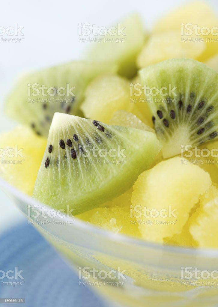 banana with kiwi royalty-free stock photo