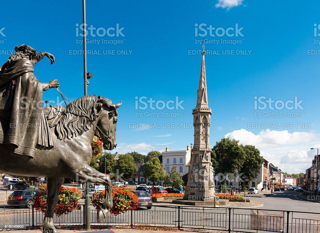Banbury Cross stock photo
