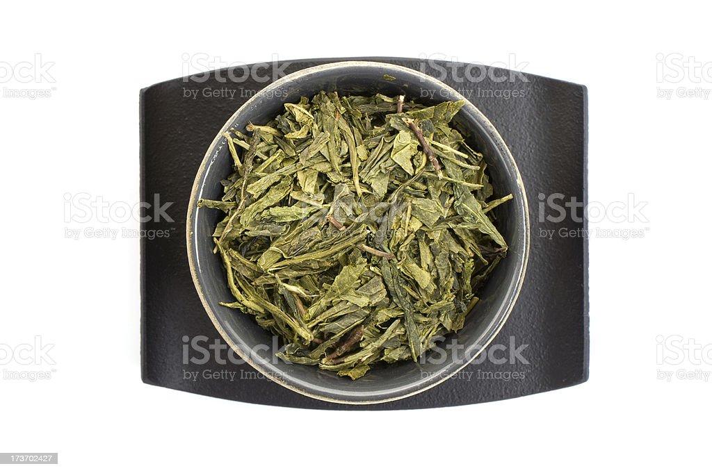 Bancha Green Tea stock photo