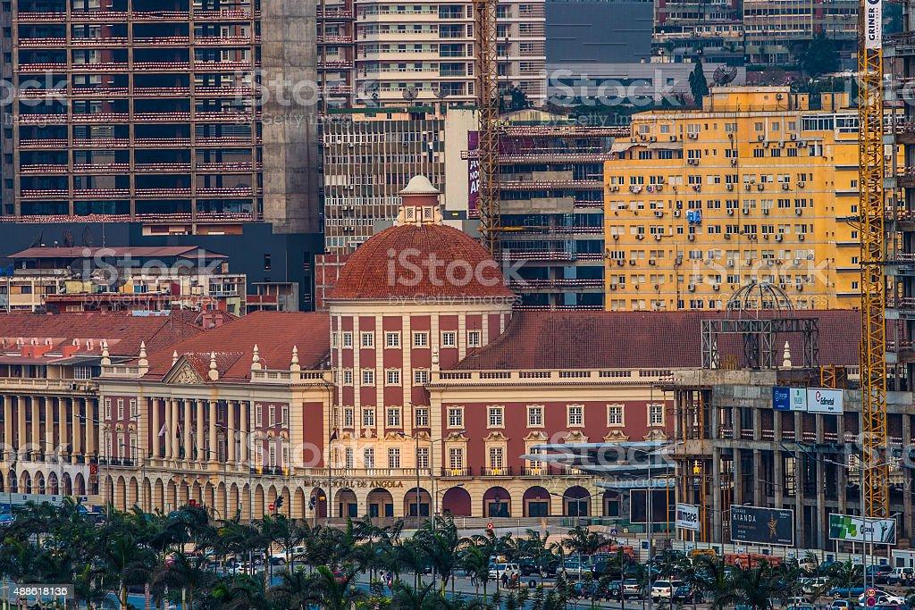 Banco Nacional De Angola (Angolan Central Bank) stock photo