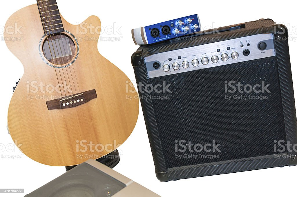 Band instruments royalty-free stock photo