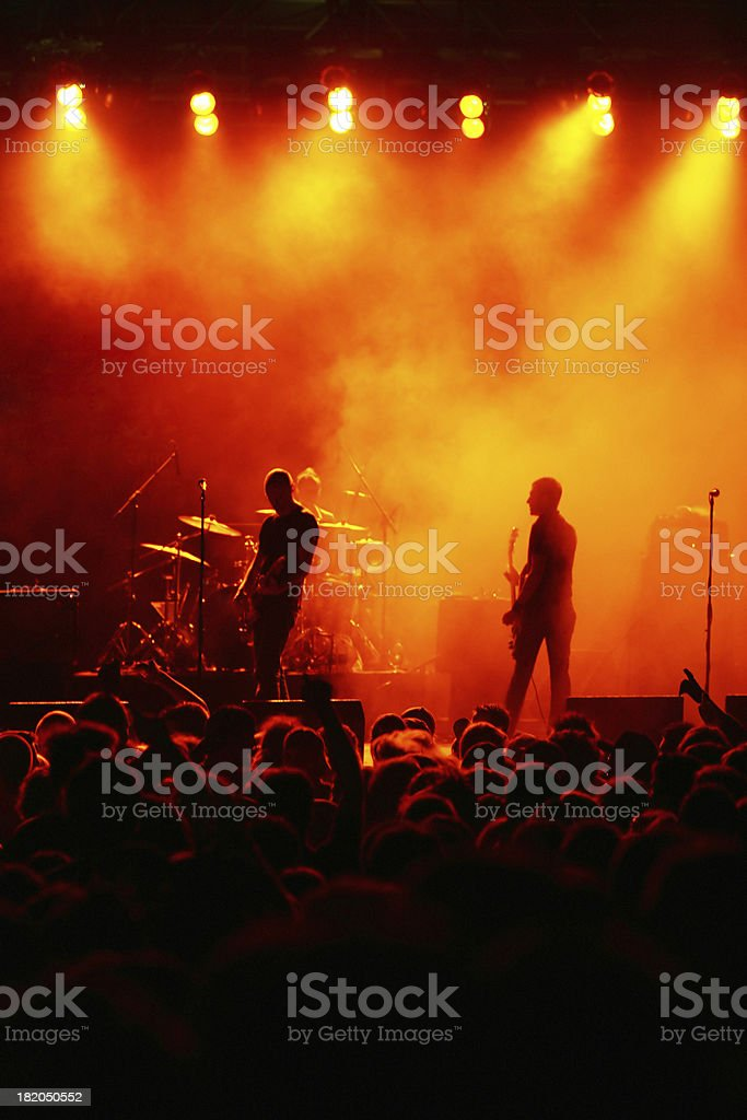 Band Live royalty-free stock photo