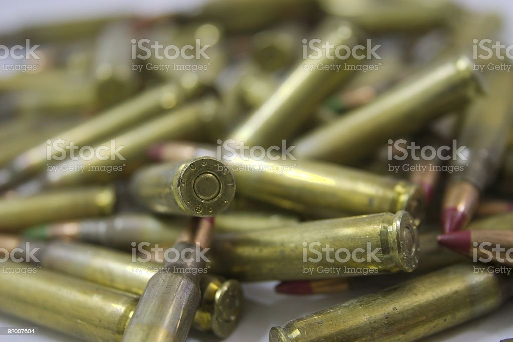 Band of Bullets royalty-free stock photo