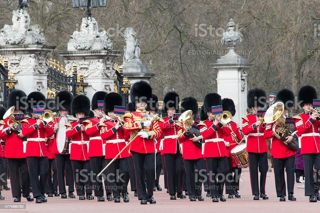 Band of the Grenadier Guards 6 stock photo