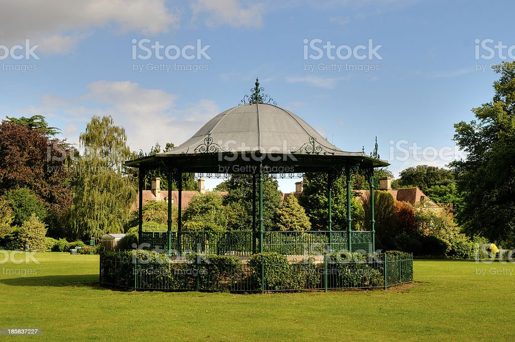 Band Stand stock photo