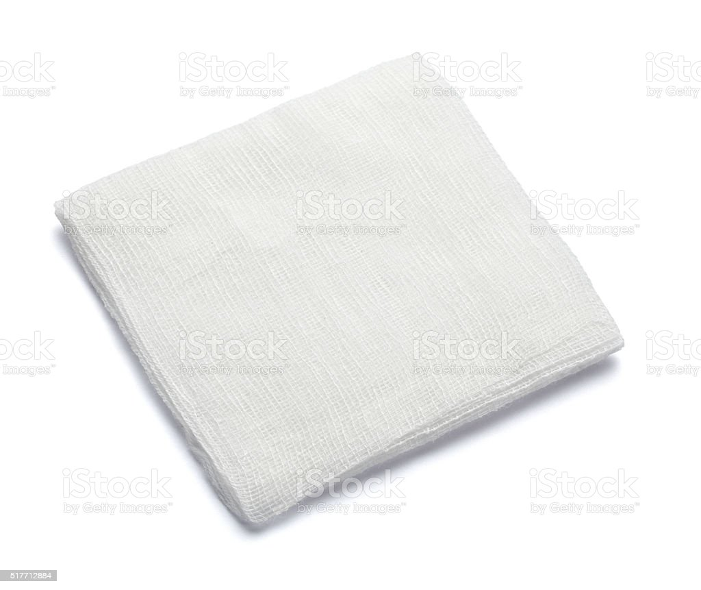 bandage cotton medical aid wound stock photo