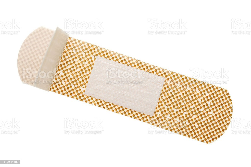 Bandage royalty-free stock photo