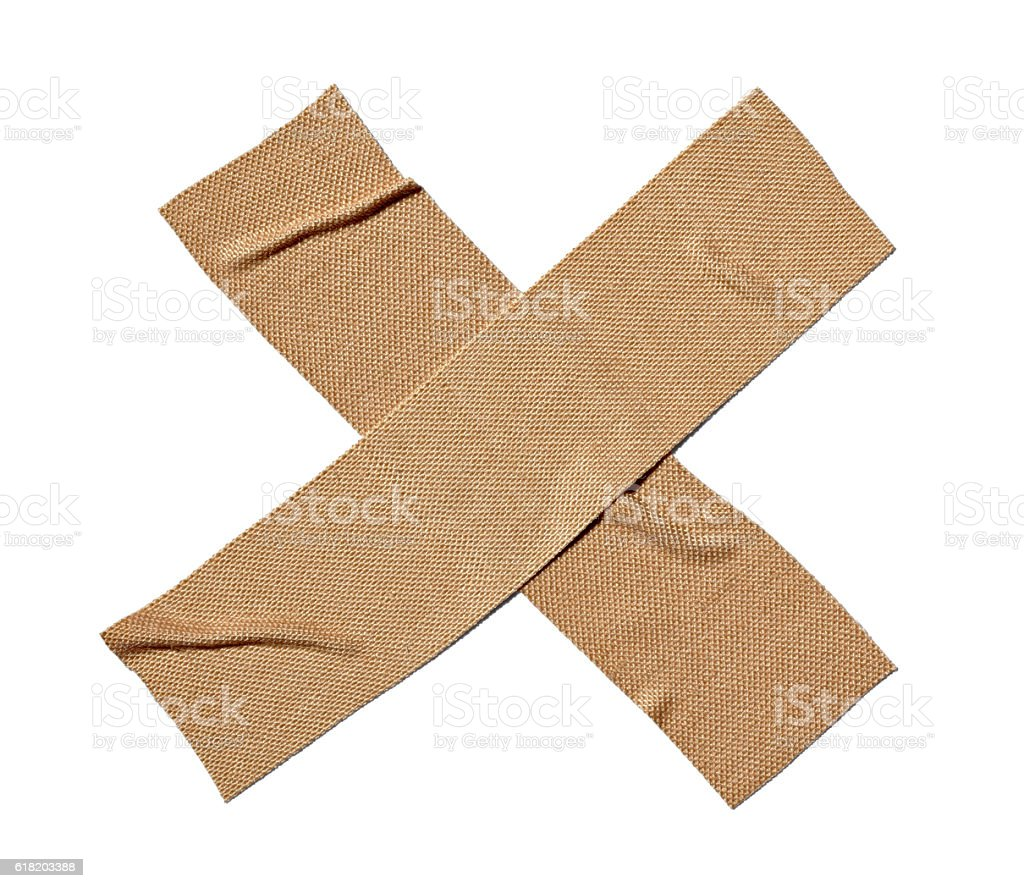 bandage tape wound medicine health care stock photo
