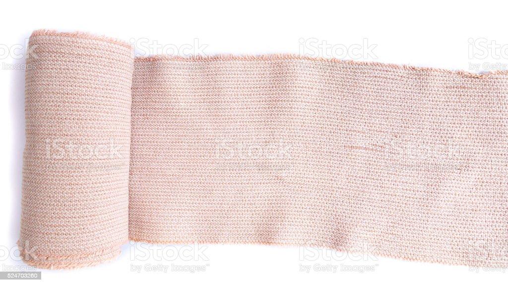 bandage with white background stock photo