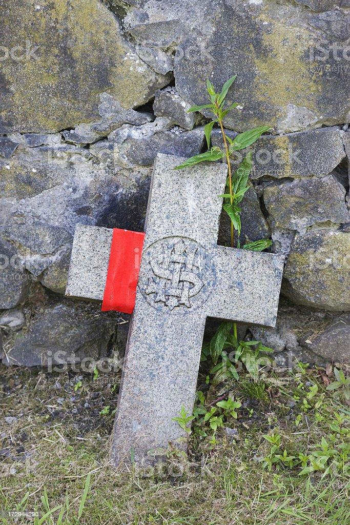 Bandaged Cross royalty-free stock photo