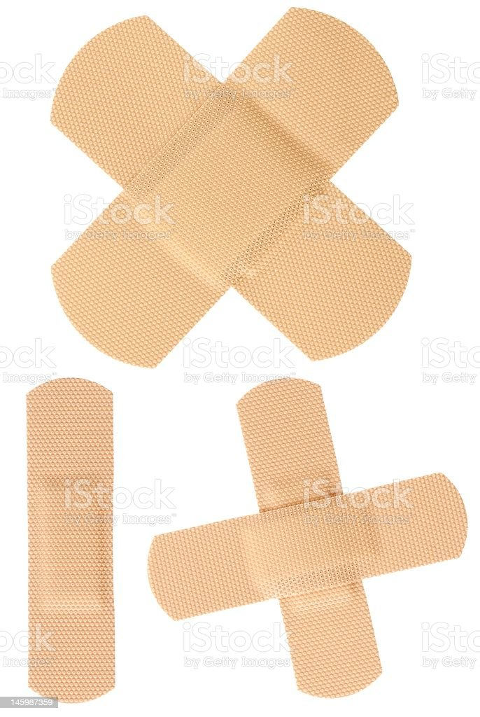 Bandages royalty-free stock photo