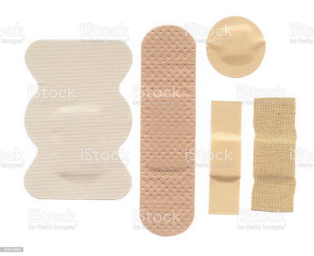 Bandages royalty-free stock photo