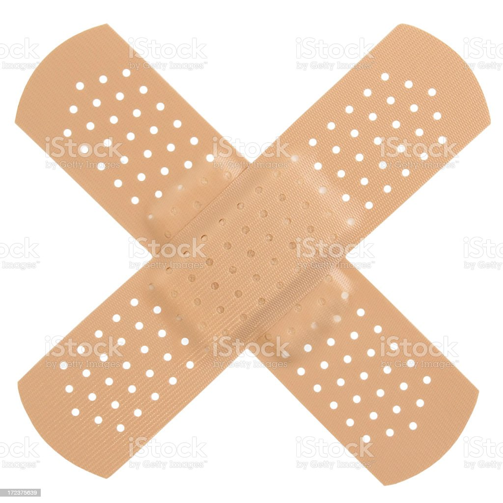 Band-aid / Bandage royalty-free stock photo