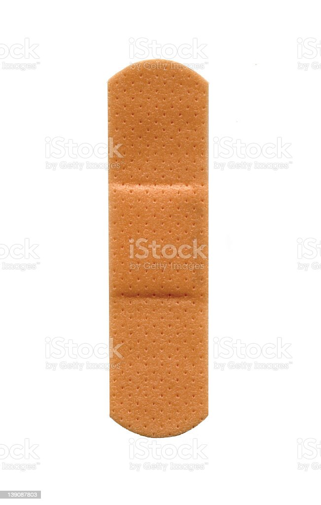 Band-aid royalty-free stock photo