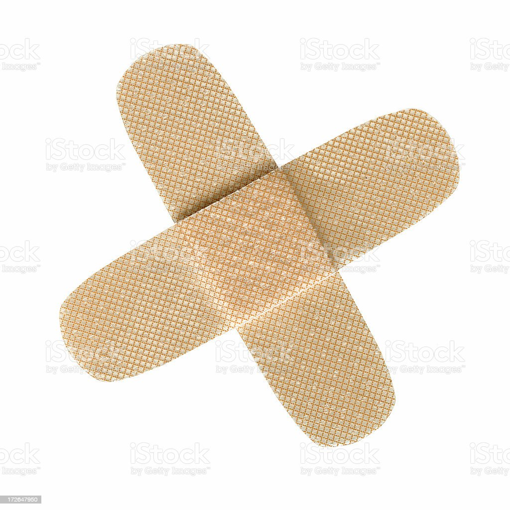 Bandaid royalty-free stock photo