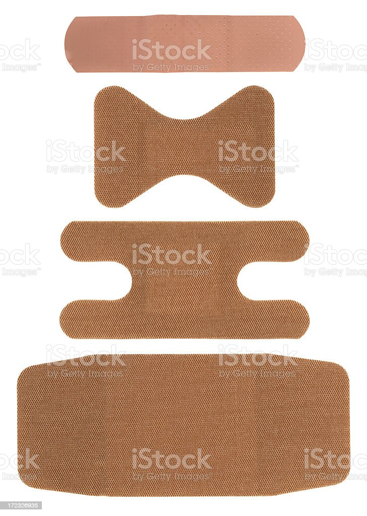 band-aids royalty-free stock photo