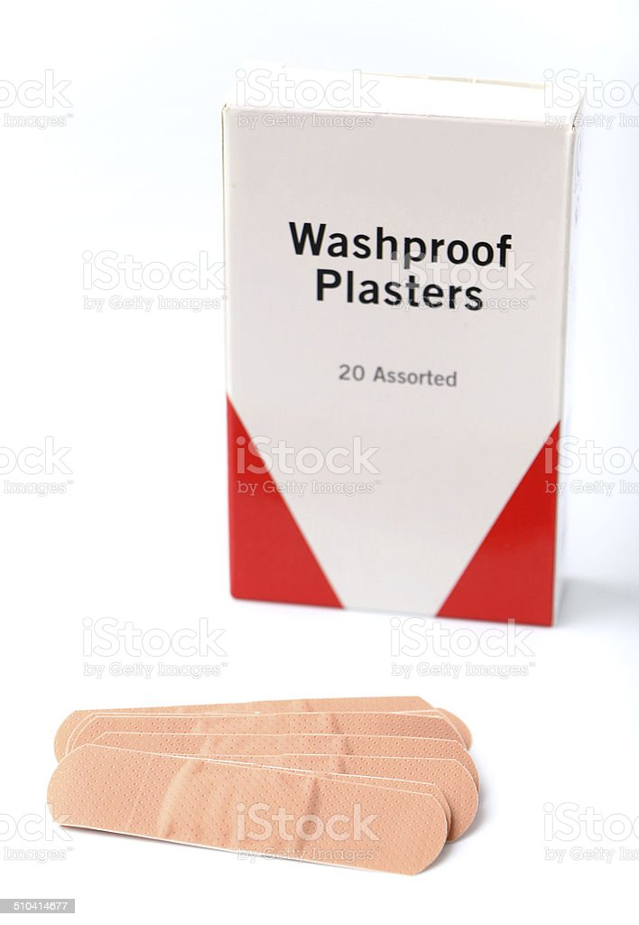 Bandaids/Plasters stock photo