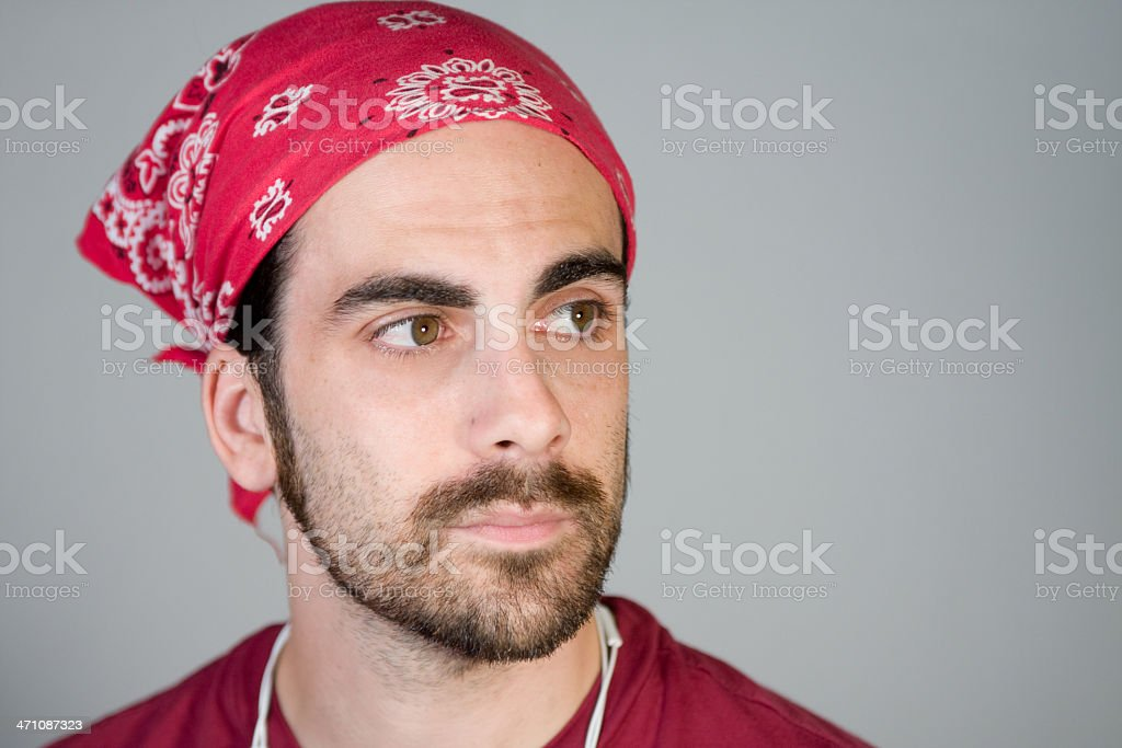 Bandanna royalty-free stock photo