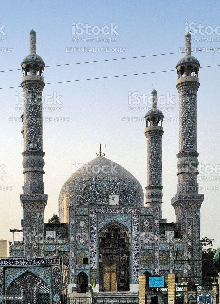 Bandar Abbas: main Sunni mosque stock photo