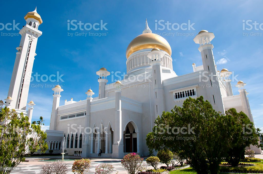 Bandar Seri Begawan - Brunei stock photo