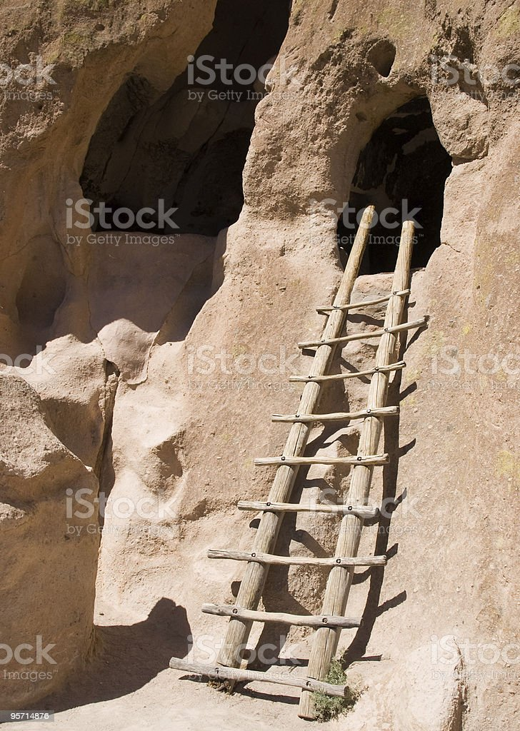 Bandelier National Monument royalty-free stock photo