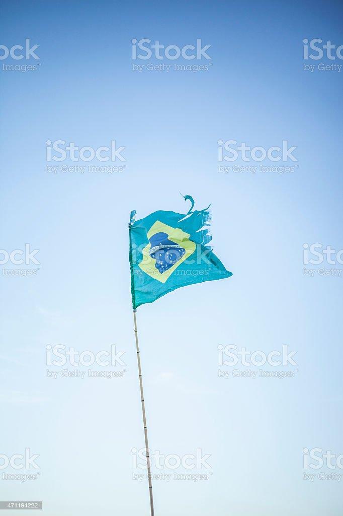 bandera brasil stock photo