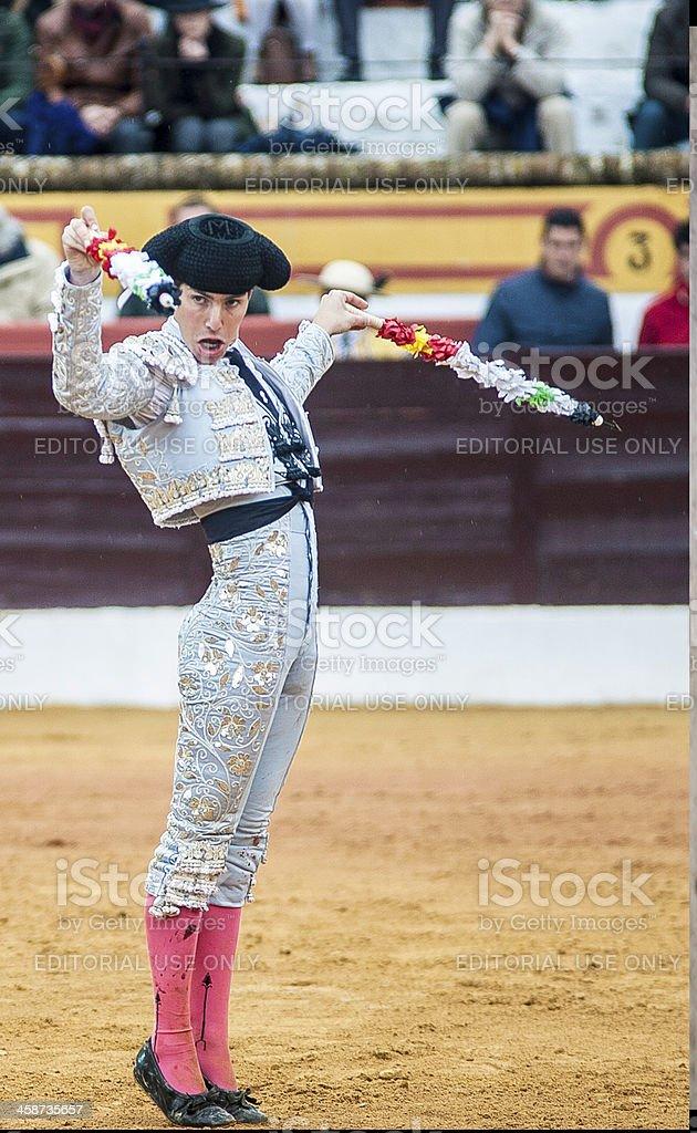 Banderillero stock photo