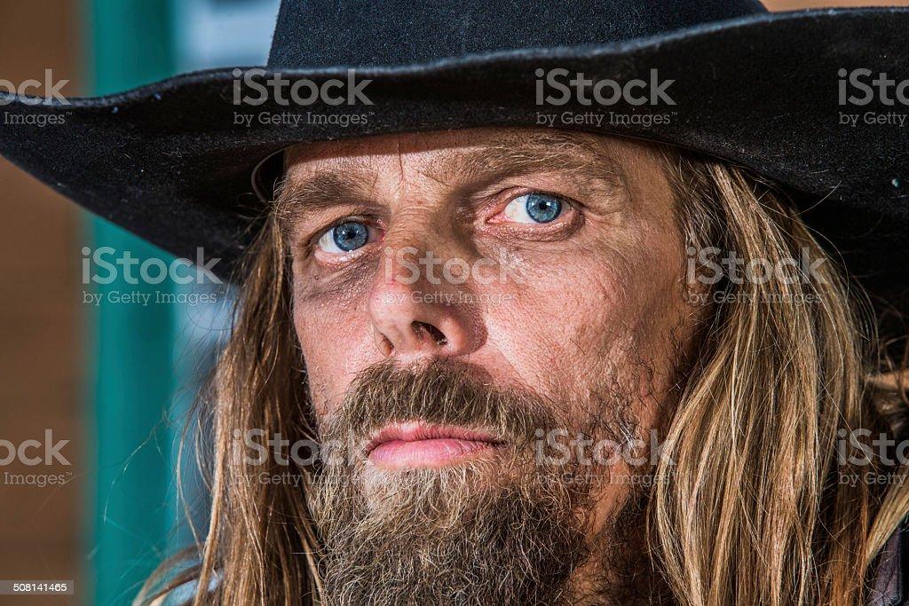 Bandit Close-up stock photo