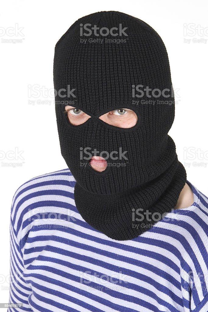 bandit royalty-free stock photo